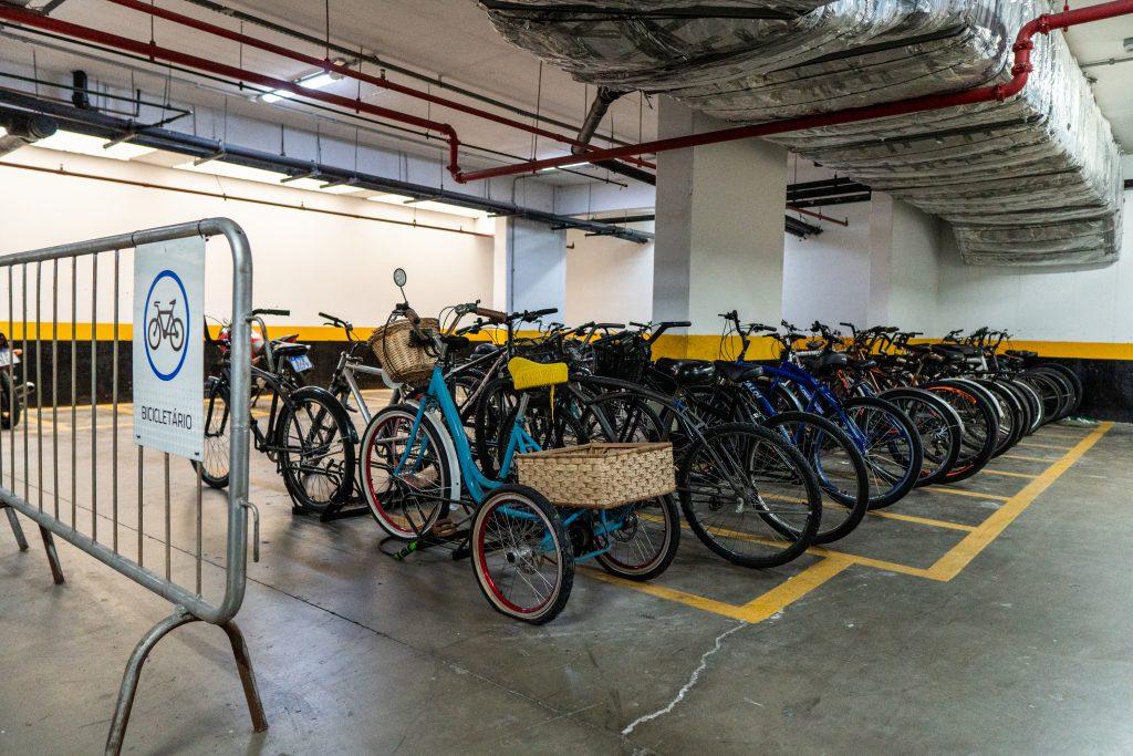 Bicicletário THE blue Santos